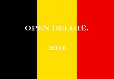 Belangrijk nieuws omtrent Open België.